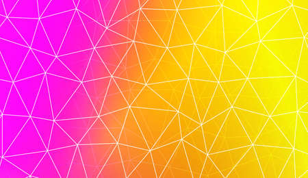 Polygonal pattern with triangles mosaic cover. For your wallpaper, advert, banner, poster. Vector illustration. Creative gradient color