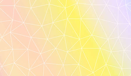 Polygonal pattern with triangles mosaic cover. Style for your business design. Vector illustration. Creative gradient color 免版税图像 - 123372985