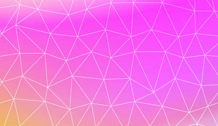 Modern pattern in polygonal pattern with triangles style. Decorative design For interior wallpaper, smart design, fashion print. Vector illustration. Creative gradient color