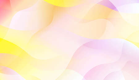 Futuristic Color Design Geometric Wave Shape, Lines. For Your Design Wallpapers Presentation. Vector Illustration with Color Gradient