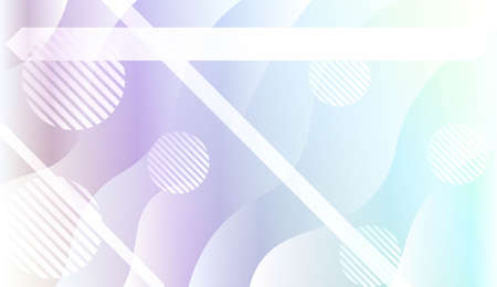 Dynamic shapes composition with Abstract Shiny Waves, Lines, Circle, Space for Text. For Template Cell Phone Backgrounds. Vector Illustration with Color Gradient