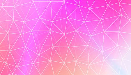 Hipster pattern with polygonal pattern with triangles elements. For modern interior design, fashion print. Vector illustration. Blurred Background, Smooth Gradient Texture Color