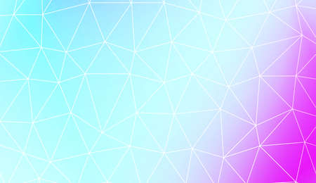 Blurry triangle texture. For wallpaper, presentation background, interior design, fashion print. Vector illustration. Creative gradient color Çizim