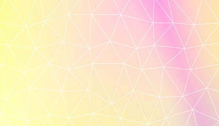 Modern elegant background with polygonal pattern with triangles elements. For interior wallpaper, smart design, fashion print. Vector illustration. Creative gradient color Иллюстрация