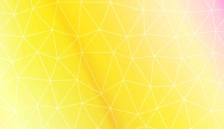 Pattern with abstract line in polygonal pattern with triangles style. For modern interior design, fashion print. Vector illustration. Creative gradient color
