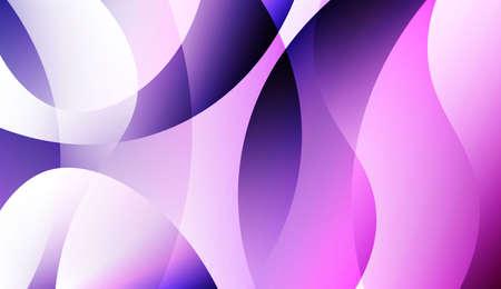 Wave Creative Background. For Business Presentation Wallpaper, Flyer, Cover. Colorful Vector Illustration