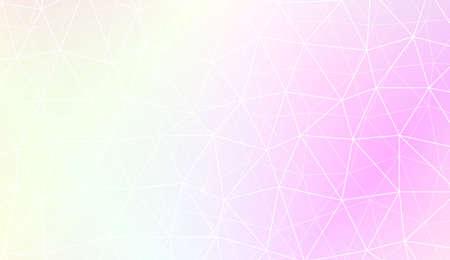 Low poly layout. For your idea, presentation, smart design Vector illustration. Creative gradient color Illustration