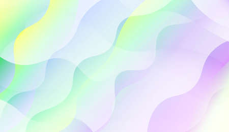 Abstract Shiny Waves, Lines. For Elegant Pattern Cover Book. Vector Illustration with Color Gradient