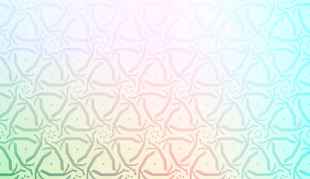 Creative geometric pattern with Soft Color Gradient Background. For Greeting Card, Flyer, Invitation. Vector Illustration 일러스트
