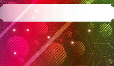Futuristic Technology Style With Geometric Design, Shapes. Triangles, line, circle. For Business Presentation Wallpaper, Flyer, Cover. Vector Illustration with Color Gradient Иллюстрация