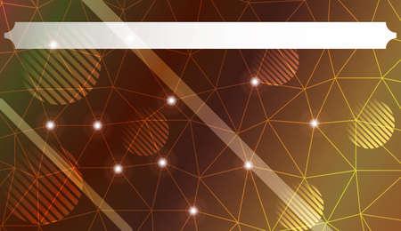Patrón de colores con triángulos, línea., Círculo, con degradado. Para su negocio, publicidad, papel tapiz. Ilustración vectorial. Color degradado creativo