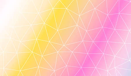 Triangular style. Modern design for you business, project. Vector illustration. Creative gradient color