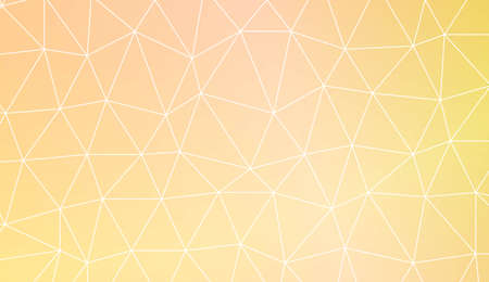 Triangular style. Modern pattern for a brand book. Vector illustration. Creative gradient color