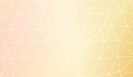 Decorative pattern with triangles style. Background for your business project. Advert, template screen. Vector illustration. Creative gradient color Illustration