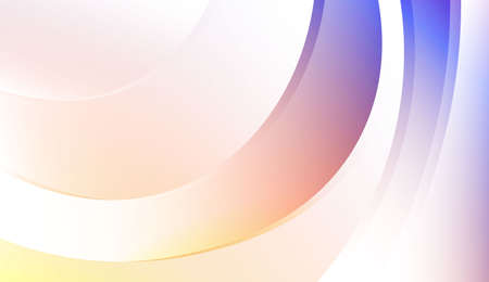 Creative Background With Wave Gradient Shape. For Template Cell Phone Backgrounds. Colorful Vector Illustration. Vecteurs