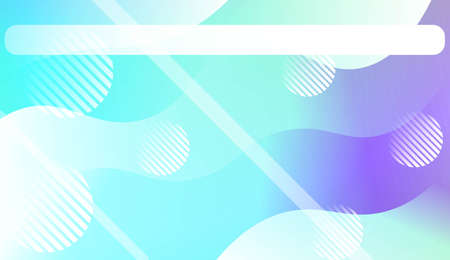 Abstract Waves. Futuristic Technology Style Background. Design For Your Header Page, Ad, Poster, Banner. Vector Illustration. Ilustrace