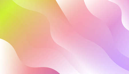Background Texture Lines, Wave. For Creative Templates, Cards, Color Covers Set. Vector Illustration with Color Gradient Иллюстрация