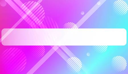 Colorful Gradient Background with Line, Circle. For Web, Presentations And Prints. Vector Illustration  イラスト・ベクター素材