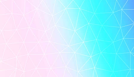Template background with curved line. Triangles style. For interior wallpaper, smart design, fashion print. Vector illustration. Abstract Gradient Soft Colorful Background Ilustrace