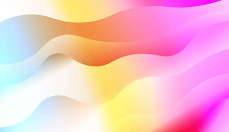 Background Texture Lines, Wave. Design For Your Header Page, Ad, Poster, Banner. Vector Illustration with Color Gradient Illustration