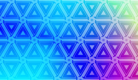 Vector template with Modern geometrical abstract pattern. Gradient color. Illustration