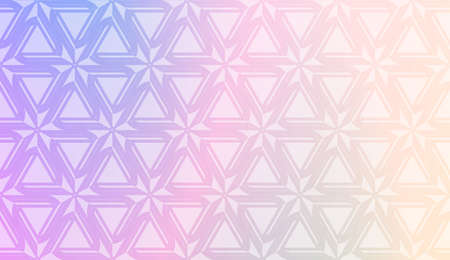 Colorful Gradient Background with geometric pattern. For Your Design Wallpaper, Presentation, Banner, Flyer, Cover Page, Landing Page. Vector Illustration
