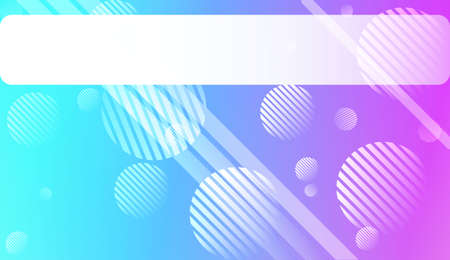 Colorful Gradient Color Background with Line, Circle. Wallpaper. For Brochure, Banner, Wallpaper, Mobile Screen. Vector Illustration.