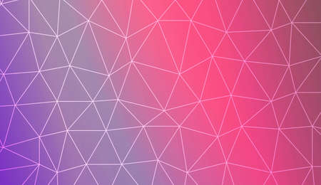 Modern elegant background with polygonal elements. For interior wallpaper, smart design, fashion print. Vector illustration. Creative gradient color