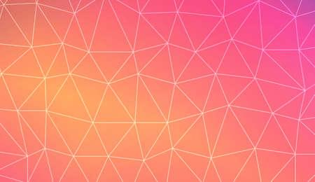 Modern elegant background with polygonal elements. Template for wallpaper, interior design, decoration, scrapbooking page. Vector illustration. Light Gradient Abstract Background Illustration