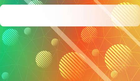 gradient color illustration in a triangles, line, circle, space for text style. Smart business design. Vector illustration Ilustração