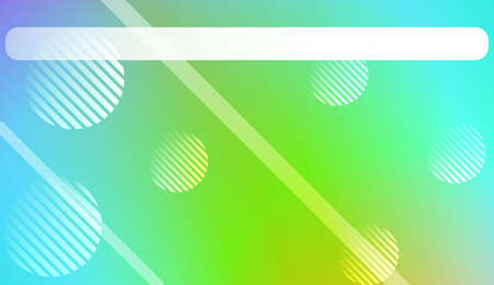 Modern Screen Gradient Design with Line, Circle. For Your Graphic Design, Banner Or Poster. Vector Illustration