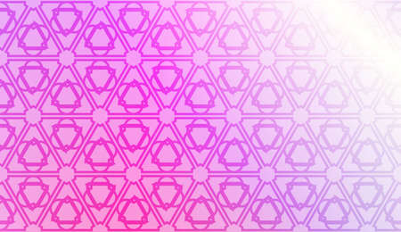 Smart background with decorative geometric layot. Vector illustration. Gradient color.
