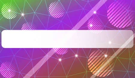 Abstract mosaic background with triangles, line, circle, space for text. Modern design for you business, project. Vector illustration. Blur Sweet Dreamy Gradient Color Background