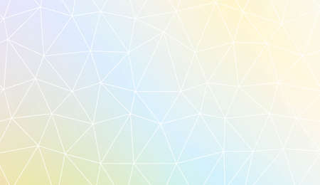 Colorful illustration in abstract polygonal pattern with triangles style with gradient. For your business, advert, wallpaper. Vector illustration
