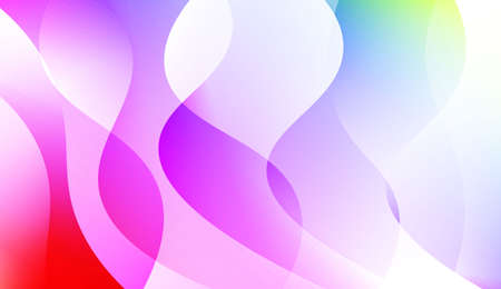 Creative Wavy Background. For Template Cell Phone Backgrounds. Colorful Vector Illustration 向量圖像