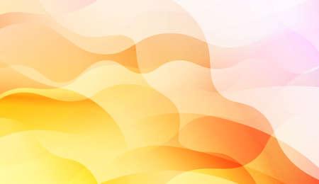 Futuristic Color Design Geometric Wave Shape, Lines. For Your Design Wallpapers Presentation. Vector Illustration with Color Gradient