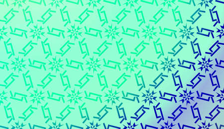 Art deco geometric pattern with Abstract Blurred Gradient Background. For Screen Cell Phone. Vector Illustration