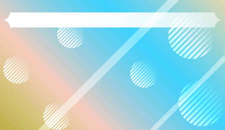 Dynamic shape background With Gradient Shape, Line, Circle, Space
