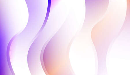 Creative Background With Wave Gradient Shape. For Your Design Wallpapers Presentation. Colorful Vector Illustration