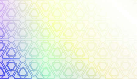 Geometric design pattern with Blurred Background, Smooth Gradient Texture Color. For Bright Website Banner, Invitation Card, Screen Wallpaper. Vector Illustration