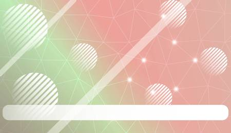 Abstract triangles, line, circle, space for text template. Decorative design for your idea. Vector illustration 向量圖像