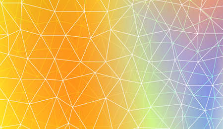 Modern pattern in polygonal pattern with triangles style. Decorative design For interior wallpaper, smart design, fashion print. Vector illustration. Blurred Background, Smooth Gradient Texture Color