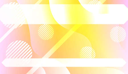 Abstract Background With Dynamic Effect. For Your Design Ad, Banner, Cover Page. Vector Illustration with Color Gradient