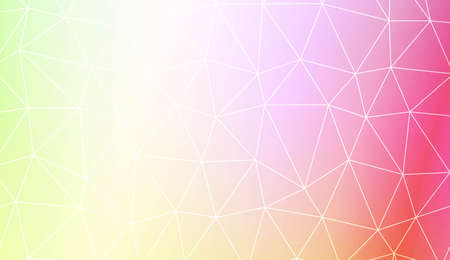 Background in polygonal pattern with triangles style. Decorative design For interior wallpaper, smart design, fashion print. Vector illustration. Creative gradient color.