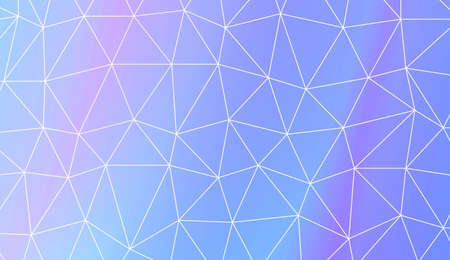 Triangles mosaic cover. For flyer, screen, business presentation. Vector illustration. Blur Sweet Dreamy Gradient Color Background