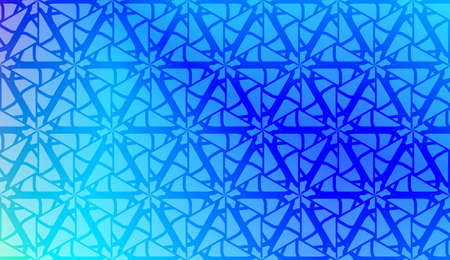 Smart background with decorative geometric layot. Vector illustration. Gradient color. Illustration