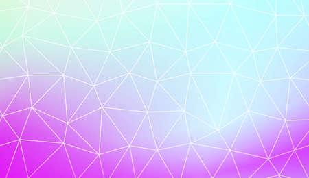 Blurry triangle texture. For wallpaper, presentation background, interior design, fashion print. Vector illustration. Creative gradient color Vectores
