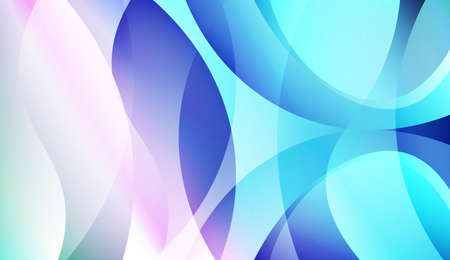 Creative Waves. Futuristic Technology Style Background. For Creative Templates, Cards, Color Covers Set. Colorful Vector Illustration