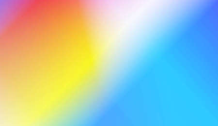 Smooth Abstract Colorful Gradient Backgrounds. For Your Graphic Design, Banner. Vector Illustration Çizim