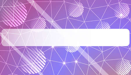 Modern geometrical abstract background with triangles, line, circle, space for text elements For textures or wallpaper. Vector illustration. Light Gradient Abstract Background